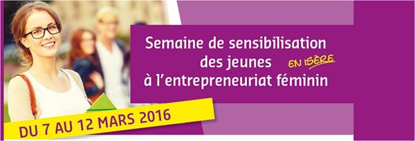 Semaine de l'entrepreneuriat au féminin en Isère, c'est par ici !