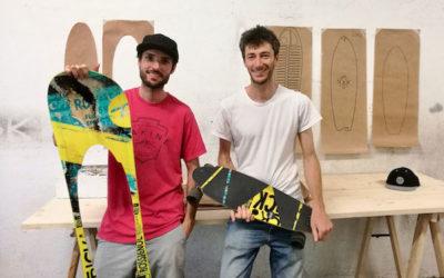 Nok Boards, les skates grenoblois qui préservent la Planète
